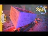 360 Minecraft Roller Coaster ANIMATION - 4k HD #cardboard #vr #360video #vrvideo #gearvr #minecraft #rollercoaster