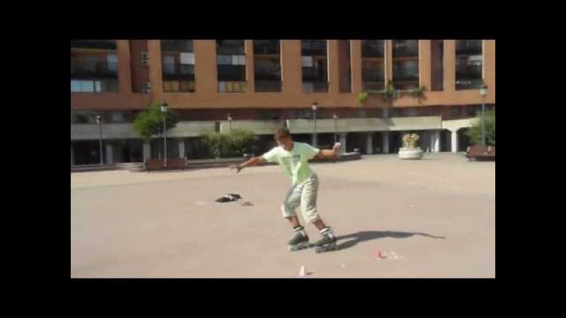 Manual de derrapes/slides freestyle patines Enrique y P.Soler