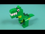 Lego Dino Building Instructions - Lego Classic 10693