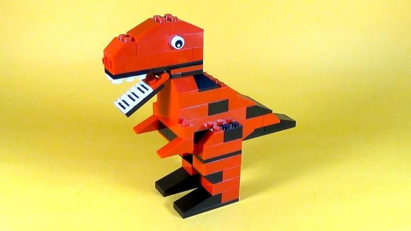 Как сделать робота динозавра