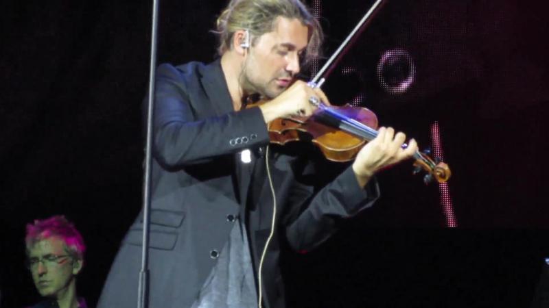 David Garrett - O fortuna - 8 сентября 2015 Москва