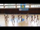 Девочки-гимнастки танцуют Черлидинг.Красиво !