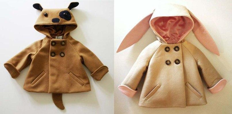 Пошив пальто своими руками для девочки