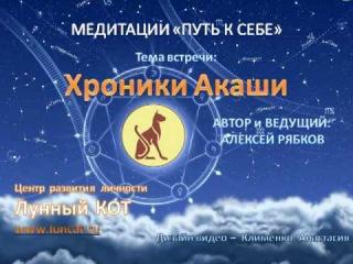 Медитации путь к себе - Хроники Акаши (Лунный КОТ)