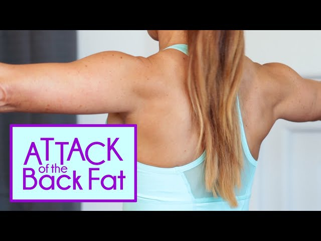 Attack of the Back Fat   Get rid of the Bra Bulge Exercises   Natalie Jill