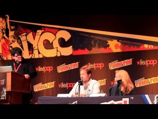 X-Files Panel NY Comic Con 2013 w/ Gillian Anderson & David Duchovny