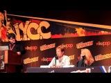 X-Files Panel NY Comic Con 2013 w/ Gillian Anderson & David Duchovny