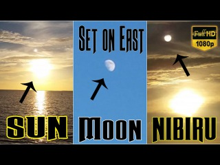 Нибиру Планета X , Солнце и Луна ? Nibiru Planet X, Sun & Moon? (Visible Today)
