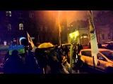 Разгон финансового майдана в киеве 26.02.2015