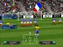 ISS Pro Evolution - PS1 Gameplay - France vs. Brazil