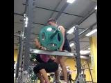 """Виктория Райкина on Instagram: """"Приседаю 40кг!Девчонки,всем рекомендую!самое лучшее упражнение для ног и ягодиц!!!💪🏻🏋🏼 #присед #приседаю #ноги #ягодицы #попа #my #fitness…"""""""