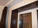 Откосы окна отделанные ламинатом версия №1