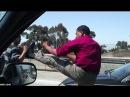 Быдло на дороге качает права, драки, разборки! Kampf auf den Straßen