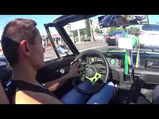 Обзор-Тестдрайв Fiat X1/9 Bertone Classic Italian sports car Тачка С Алло Гаража