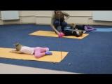 Джани. Детская хореография. тренировка. растяжка