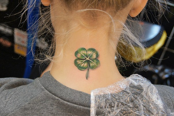 Beautiful ideas for clover and shamrock tattoos 3