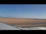 Посадка в аэропорту Шарм-эль-Шейха 05.11.2015