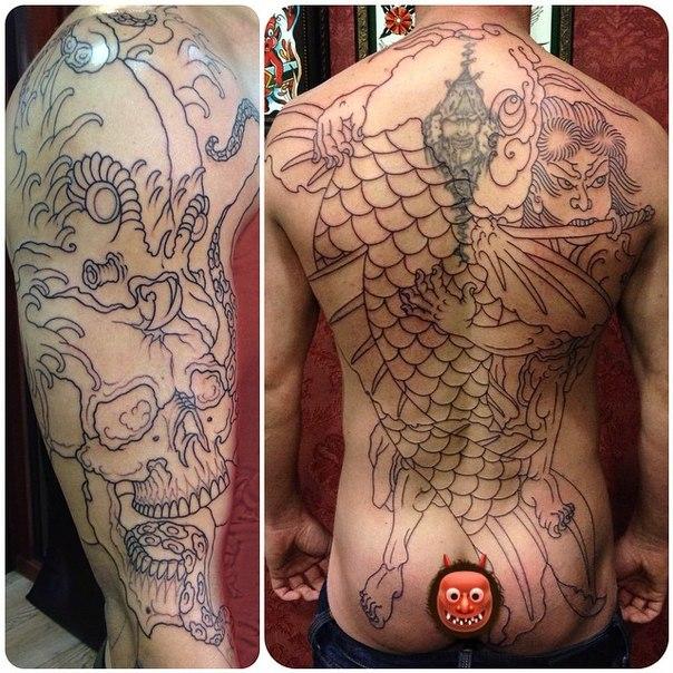 мс дони татуировки