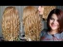 ПРИЧЕСКА на ВЫПУСКНОЙ/ ЛОКОНЫ/ ЦВЕТОК/ ВОДОПАД/ Сurly hairdo with hairflower/ Nina Nonsimple