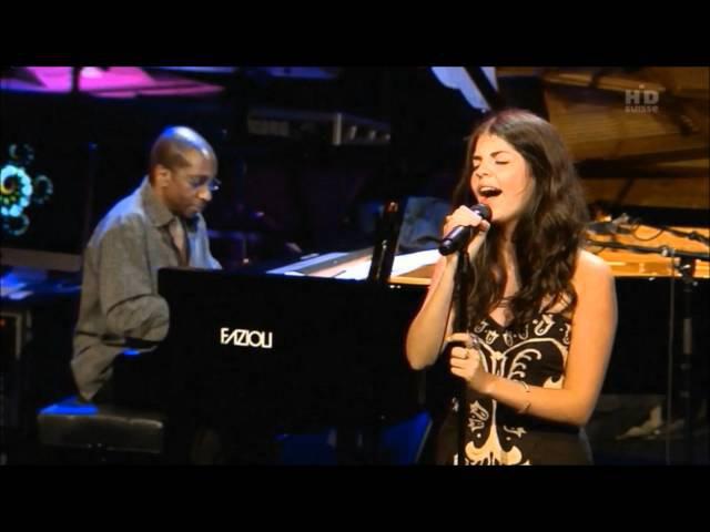 Nikki Yanofsky Lullaby of Birdland with Quincy Jones Montreux Jazz 2011 HD