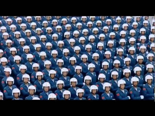 Китайцы - Парад Победы на Красной площади
