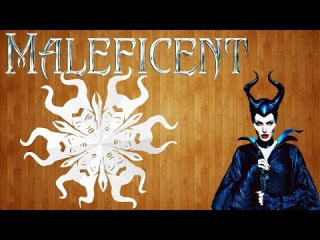 Как сделать снежинку Малефисента своими руками / How to make a snowflake from the cartoon Maleficent