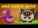 Мой кот в ауте)))