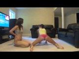 Two Slutty Teens Booty Shaking