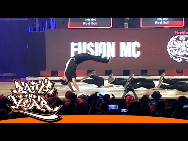 INTERNATIONAL BOTY 2014 - FUSION MC (KOR) - SHOWCASE [BOTY TV]
