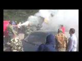 ПН TV: Работники Корнацкого погрузчиком едут на охранников