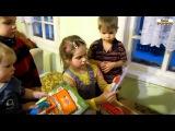 Семья Бровченко. Нам пришла посылка №5- подарки Ане на д.р.