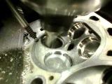 обработка седел ГБЦ (спорт седло) RENAULT-CLIO-3 SPORT 16 V 2L.