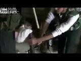 Сирия,Боевику не повезло разорвало из выстрела из РПГ