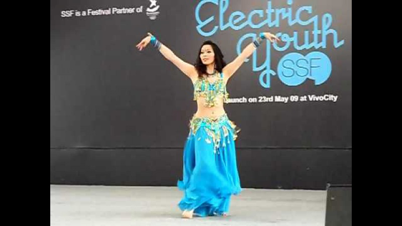 Asia Global Belly Dance Competition 2009 - Traditional (3rd Place Winner - Wen Yu from Taiwan)