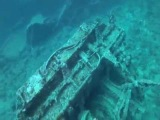 148' feet deep U.S.S. Emmons Wreck Dive Okinawa Japan GoPro Hero 2 HD