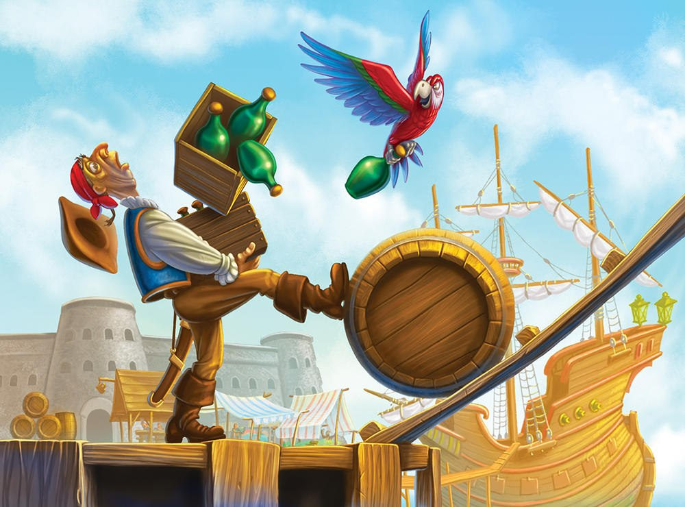 12. «Пираты семи морей». Карибское море.