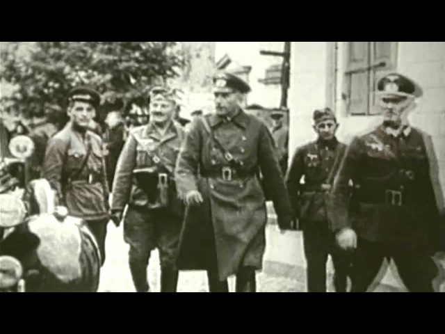 22.09.1939 г. Брест Совместный парад РККА и Вермахта