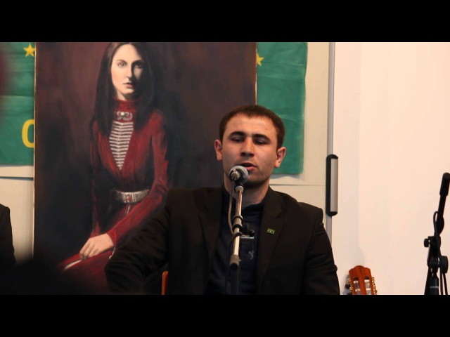 Tscherkessische Kulturtage 2015 Kazbek Nagarokov
