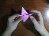 ПТИЦА из бумаги, ОРИГАМИ, Origami , BIRD. КАК сделать ПТИЦУ из бумаги.