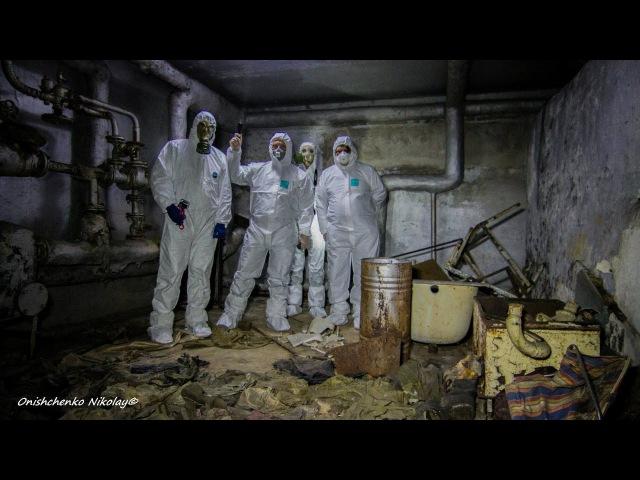 Подвал МСЧ 126 в Припяти