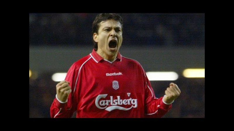 Jari Litmanen goals and assist Liverpool FC
