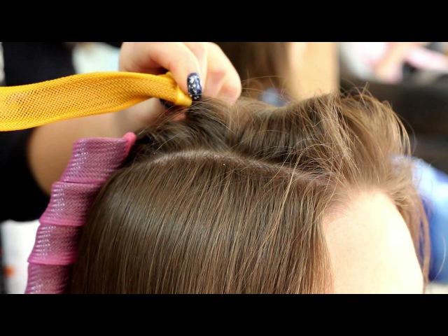 Локоны без вреда для волос - на бигуди Magic Leverag