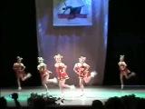 Русские народные танцы от детского танцевального коллектива.
