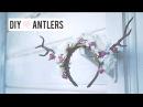 Deer Antler DIY Halloween Headpiece Costume (Floral Fawn)