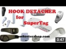 Security hook key detacher tag in action shoplifting how to remove super gancho antihurto inditex