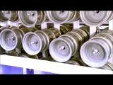 Как изготавливают автомобильные колесные диски?