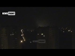 Зарево над Донецком – ВСУ жестоко обстреливают столицу ДНР пока ОБСЕ спит!