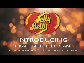 Draft beer jelly belly jelly beans debut -- worlds first beer flavor jelly beans!