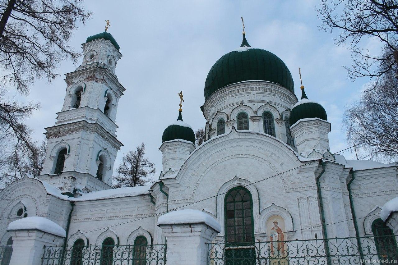 Храм Архангела Михаила  в Кушве