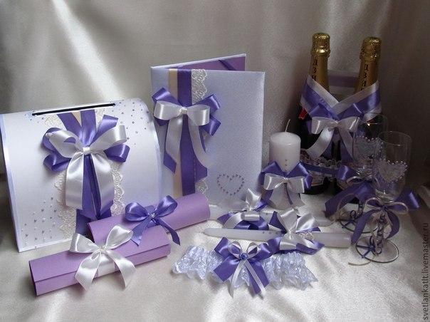 Свадебные комплекты аксессуаров своими руками